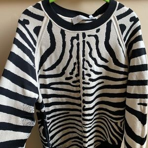 Sweaters - A.L.C iconic animal print sweater